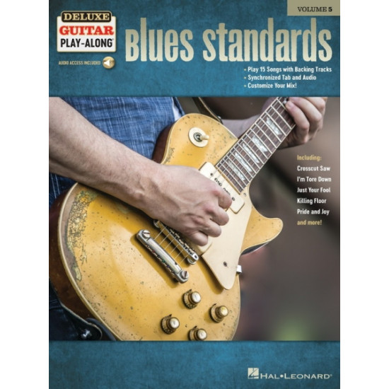 Blues Standards Deluxe Playalong Guitar Volume 5