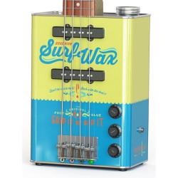 Bohemian JHS-BG15SW Guitars Surf Wax Oil Can Electric Guitar