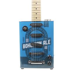 Bohemian JHS-BG15AL Guitars Ale Oil Can Electric Guitar