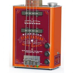 Bohemian JHS-BG15HS Guitars Hot Sauce Oil Can Electric Guitar