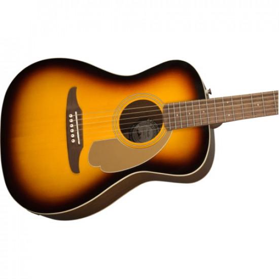 Fender Malibu California Player Series Acoustic Electric Guitar Sunburst with Walnut Fingerboard