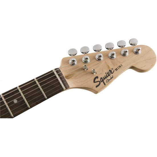 Fender Squier Mini Stratocaster Laurel Fingerboard Black Electric Guitar