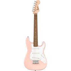 Fender Squier Mini Stratocaster Laurel Fingerboard Shell Pink Electric Guitar