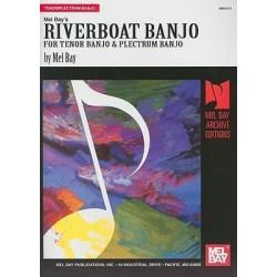 Mel Bays Riverboat Banjo for Tenor Banjo & Plectrum Banjo Print Music Book