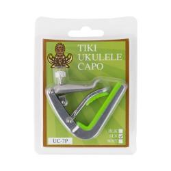 Ukulele Capo Tiki Silver