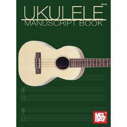Ukulele Manuscript Book