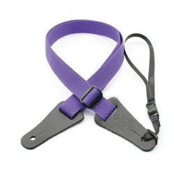 Ukulele Strap Purple Poly