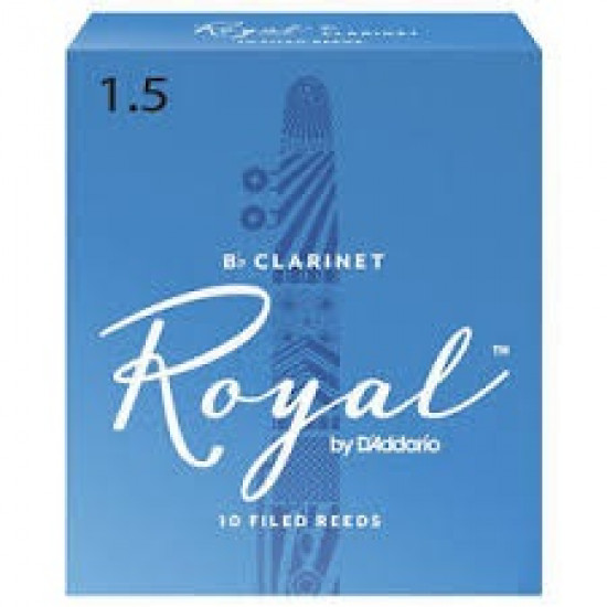 Rico Royal Reeds Bb Clarinet Box 10 1.5