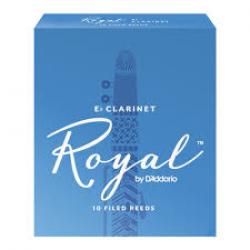 Rico Royal Reeds Bb Clarinet Box 10 2.5