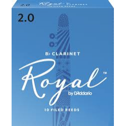 Rico Royal Reeds Bb Clarinet Box 10 2.0