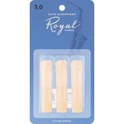 Rico Royal Reeds Alto Sax 3 pack 3.0