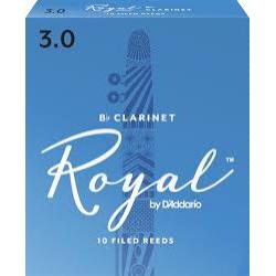 Rico Royal Reeds Bb Clarinet Box 10 3.0