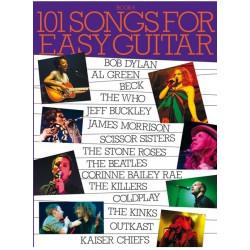101 SONGS AM990759 EASY GUITAR BOOK 6