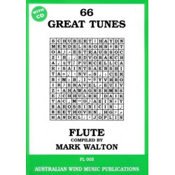 66 Great Tunes FL005 Flute BCD