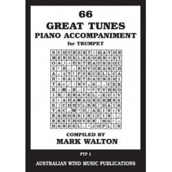 66 Great Tunes Piano Accompaniment for Trumpet by Mark Walton