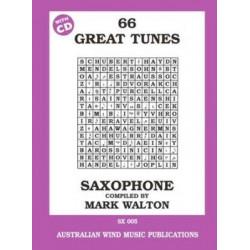 66 Great Tunes Saxophone by Mark Walton