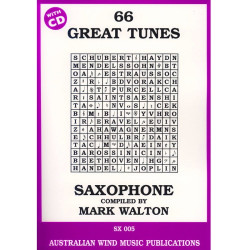 66 Great Tunes Tenor Saxophone with CD