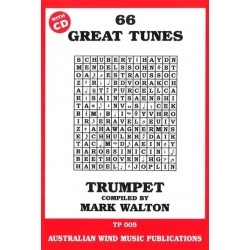 66 Great Tunes Trumpet With CD
