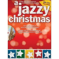 A Jazzy Christmas Playalong Alto Sax Book and CD