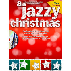 A Jazzy Christmas Playalong Flute Book and CD