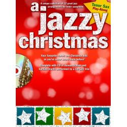 A Jazzy Christmas Playalong Tenor Sax Book and CD