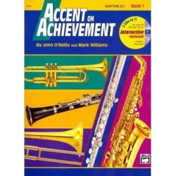 Accent On Achievement Bk1 Baritone BC BCD