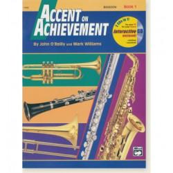 Accent On Achievement Bk1 Bassoon Interactive CD