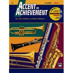 Accent On Achievement Bk1 Bb Clarinet BCD