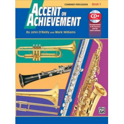 Accent On Achievement Bk1 Combined Percussion BCD