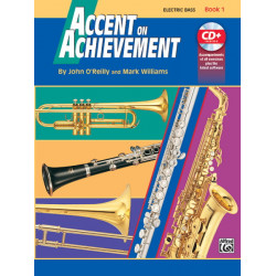 Accent On Achievement Bk1 Electric Bass BCD