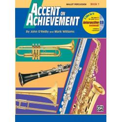 Accent On Achievement Bk1 Mallet Percussion Interactive CD