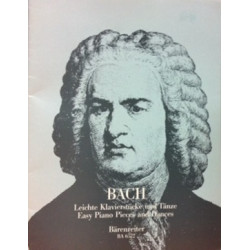 Bach Easy Piano Pieces and Dances