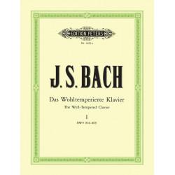 Bach J S Das Wohltemperierte Klavier Book 1 (Preludes & Fugues)