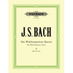 Bach J S Das Wohltemperierte Klavier Book 2(Preludes and Fugues)