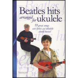 Beatles hits arranged for ukulele