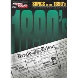 EZPlay 263 Songs of the 1890's