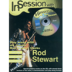 In Session with Rod Stewart Book and CD