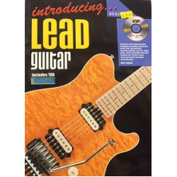 Introducing Lead Guitar Includes Tab with Playalong CD