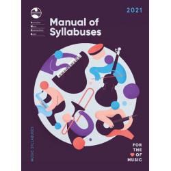 AMEB 2021 Manual of Syllabuses