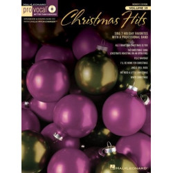 Hal Leonard Pro Vocal Christmas Hits Womens Edition Volume 39 Book and CD
