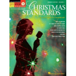 Hal Leonard Pro Vocal Christmas Standards Female Singers Book and CD