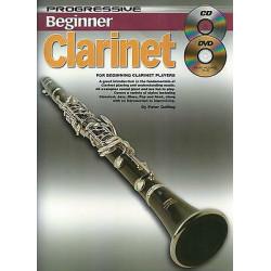 Progressive Beginner Clarinet Book plus CD and DVD