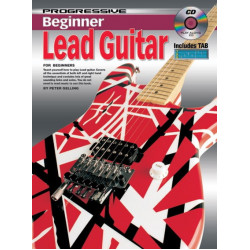 Progressive Beginner Lead Guitar Includes Tab and Playalong CD