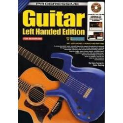 Progressive Guitar Left Handed Edition includes Tab and Bonus DVD Rom