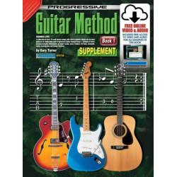 Progressive Guitar Method Book 1 Supplementary