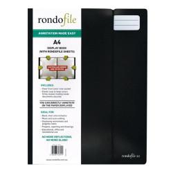 Rondofile 20 Black A4 Sheet Music Display Holder