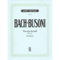 Bach-Busoni Toccata in D minor BWV 565