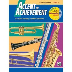 Accent On Achievement Bk1 Alto Saxophone Eb