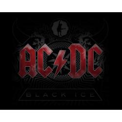 AC/DC Black Ice Print Music Album Guitar Tab Edition