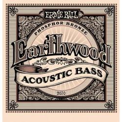 Ernie Ball 2070 Earthwood Acoustic Bass Strings 45-95 .045 / .095